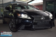 2013 LEXUS GS250 FSPORT BROWN LEATHER NO GST