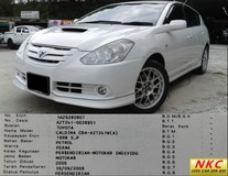 2005 TOYOTA CALDINA  2.0 (A) ZT TRD GOOD CONDITION