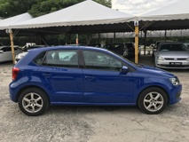 2012 VOLKSWAGEN POLO 1.2 TSI 1LADY OWNER FULL SERVISE RECORD FULOAN