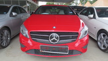 2013 MERCEDES-BENZ A-CLASS A 200 1.6 LOCAL SPEC