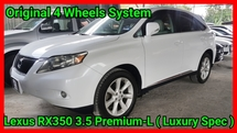 2012 LEXUS RX350 RX350 PREMIUM LUXURY HIGH SPEC 4 WHEEL DRIVE POWER BOOT