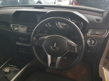 2013 MERCEDES-BENZ E-CLASS E250 AMG Sport Package Unregistered