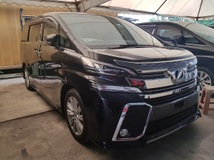 2013 TOYOTA VELLFIRE 2.5 ZA Power Boot 4 Camera Unregistered