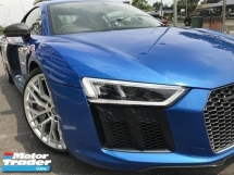 2017 AUDI R8 AWD 5.2 V10 PLUS UNREG BLUE COUPE UK