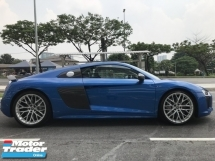 2017 AUDI R8 AWD 5.2 V10 PLUS UNREG BEAST BLUE COUPE UK