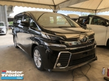 2015 TOYOTA VELLFIRE Unreg Toyota Vellfire 2.5 Z 8SEATHER 360view 2PD Powerboot 7G