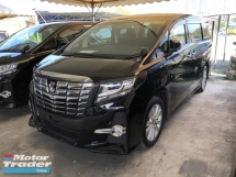 2016 TOYOTA ALPHARD Unreg Toyota Alphard S 7SEATHER 360view 2PD Powerboot 7G Keyless Push Start