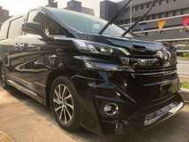 2015 TOYOTA VELLFIRE EXECUTIVE LOUNGE 3.5