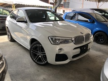 2015 BMW X4 M Sport 2.0 Twin Power Turbo xDrive28i Unreg No GST 4 Camera Power Boot Leather Seat Pre Crash