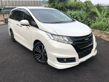 2014 HONDA ODYSSEY Absolute Mugen 2.4 I Vtec Earth Dream Unreg No GST Mugen 4 Camera Electronic Seat