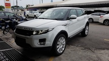 2014 LAND ROVER EVOQUE RANGE ROVER EVOQUE 2.0 Si4 (A) REG JULY 2014, ONE OWNER, FULL SERVICE RECORD, LOW MILEAGE DONE 74K KM, FREE 1 YEAR CAR WARRANTY, SELDOM USE, 20