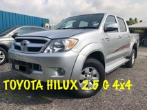 2009 TOYOTA HILUX 2.5G 4X4 GUARANTEE NO OFF ROAD LIKE NEW CAR CONDITION