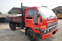 2007 DAIHATSU DELTA V116 New Wooden Tipper Body & New Pump, 5000kg, Green Diesel Engine