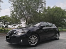 2011 LEXUS CT200H HYBRID LUXURY (A) FULL SERVICE RECORD
