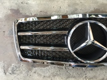 Mercedes W210 EClass Grille Sport Grill Bodykit  Exterior & Body Parts > Car body kits