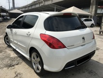 2012 PEUGEOT 308 1 OWNER FULOAN F/SERVISE RECORD