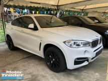 2016 BMW X6 xDrive M 50d 3.0 Twin Turbocharge 376hp Adaptive Intelligent Bi LED Pre Collisions Sport Plus Comfort Eco Selection Automatic Power Boot Memory Seat Multi Function Paddle Shift Steering Bluetooth Connectivity Unreg