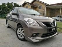 2014 NISSAN ALMERA 2014 Nissan ALMERA 1.5 VL IMPUL (A) PUSH START