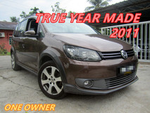 2011 VOLKSWAGEN CROSS TOURAN 1.4 TSi (A) ONE OWNER , WELL MAINTIAN