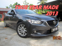 2014 MAZDA 6 2.0 SKYACTIC-G (A) ONE OWNER , LEATHER SEAT , PUSH START
