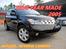 2005 NISSAN MURANO 250XL 2.5 (A) REVERSE CAMERA , PUSH START