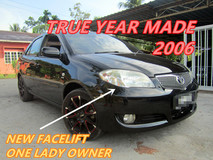 2006 TOYOTA VIOS 1.5E (A) ONE LADY OWNER , NEW FACELIFT , LEATHER SEAT , LOW MILEAGE