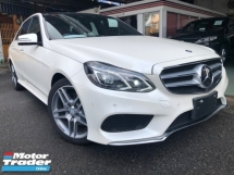 2015 MERCEDES-BENZ E-CLASS E250 2.0 AMG PROOF 4 CAM LEATHER