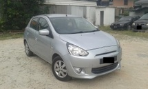 2013 MITSUBISHI MIRAGE  1.2(A)Eco P/Start Full Loan