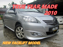 2010 TOYOTA VIOS 1.5E (A) ONE OWNER , NEW FACELIFT , BODYKIT