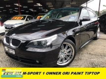 2006 BMW 5 SERIES 525I M-SPORTS BLACK INTERIOR ORIGINAL PAINT ENGINE SMOOTH GEARBOX GREAT