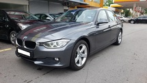 2014 BMW 3 SERIES 316I F30 1.6cc (A) REG 2014, CKD, ONE OWNER, FULL SERVICE RECORD, LOW MILEAGE DONE 63K KM, FREE 1 YEAR WARRANTY