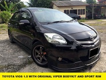 2010 TOYOTA VIOS 1.5 TRD SPORTIVO SPEC ONE OWNER ORIGINAL PAINT LOW MILEAGE TIPTOP
