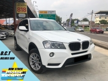 2013 BMW X3 XDRIVE20I  PERTOL LOW MILEAGE UNDER WARRANTY 1OWNER