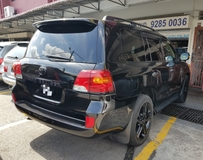 2013 TOYOTA LAND CRUISER ZX 60TH BLACK LEATHER SELECTION