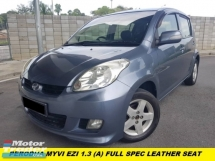 2012 PERODUA MYVI 1.3 EZI PREMIUM LIMITED LEATHER ONE TECHER OWNER  ORIGINAL PAINT LOW MILEAGE