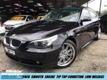 2006 BMW 5 SERIES 525I M-SPORT LIMITED CBU 1OWNER TIP TOP CAR