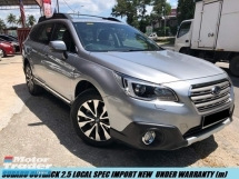2017 SUBARU OUTBACK 2.5I EYE SIGHT S PACKAGE LIMITED UNDER WARRANTY SUBARU  SUPER DEALS