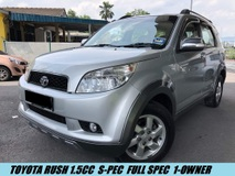 2010 TOYOTA RUSH 1.5S (AT) S-SPEC WITH LEATHER SEATS FULL HIGH SPEC
