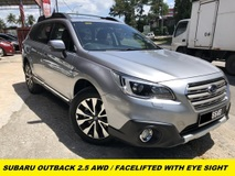 2017 SUBARU OUTBACK 2.5I S-STYLE LIMITED  FACELIFTED DEMO UNIY 11K MILEAGE FULL SERVISE RECORD UNDER WARRANTY FREE SERVICES 5 YEARS
