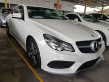 2014 MERCEDES-BENZ E-CLASS E200 AMG 2.0 Unregistered