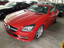 2014 MERCEDES-BENZ SLK SLK200 AMG Spec Convertible Panaromic Roof Local AP Unreg