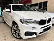 2015 BMW X6 3.0 (A) M SPORT NEW FACELIFT MODEL UNDER WARRANTY BY BMW MALAYSIA TIP TOP