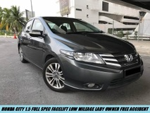 2015 HONDA CITY 1.5E Facelift Full Spec One Owner Low Mileage