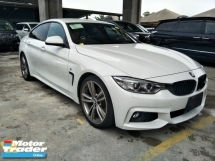 2016 BMW 4 SERIES 2.0GR SPEC GRAND COUPLE WHITE EDITION