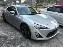 2013 TOYOTA 86 FT86 2.0 GT UNREG