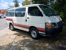 2002 TOYOTA HIACE 2.0 VAN (M) TIPTOP CONDITION
