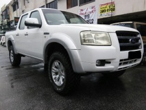 2008 FORD RANGER 2.5 XL TDI 4X4 DOUBLE CAB DIESEL BANK CAN FULL LOAN