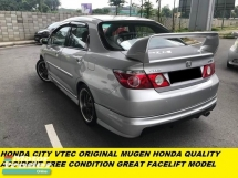 2009 HONDA CITY 1.5 NEW FACELIFT ACCIDENT FREE ENGINE GEARBOX VERY SMOONTH ORIGINAL MUGEN HONDA QUALITY