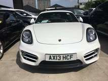 2013 PORSCHE CAYMAN 2.7 PDK PCM.FACELIFT.0%SST.TRUE YEAR MADE CAN PROVE 13 UNREG.TIPTRONIC.LEATHER SEAT.FREE WARRANTY N GIFTS