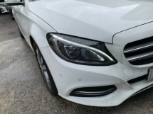 2014 MERCEDES-BENZ C-CLASS C200 2.0  SSPORT UNREG WHITE UK